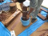 檜皮葺@京都市文化財建造物保存技術研修センター